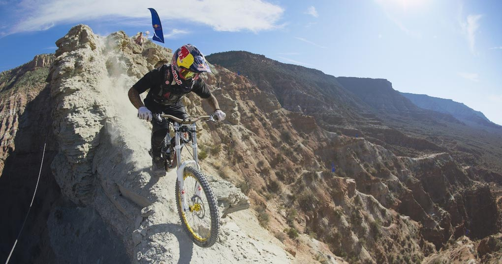 SCARY RIDE – ONLY FOR MAD…RED BULL RAMPAGE MTB