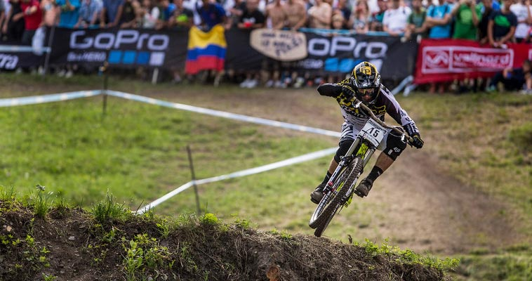 UCI MTB DOWNHILL WORLD CHAMPIONSHIPS 2015 VALLNORD, ANDORRA