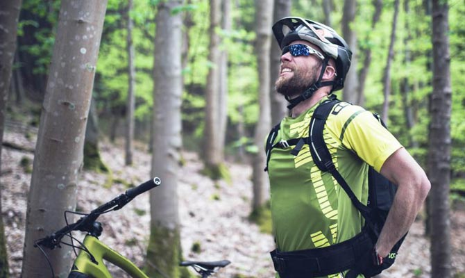 MOUNTAIN BIKING AND BACK PAIN