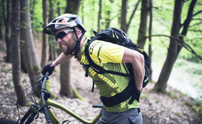 WHY YOU ARE HAVING LOWER BACK PAIN WHEN MOUNTAIN BIKING