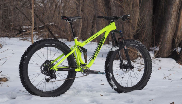 TYPES OF MTB - FAT BIKE