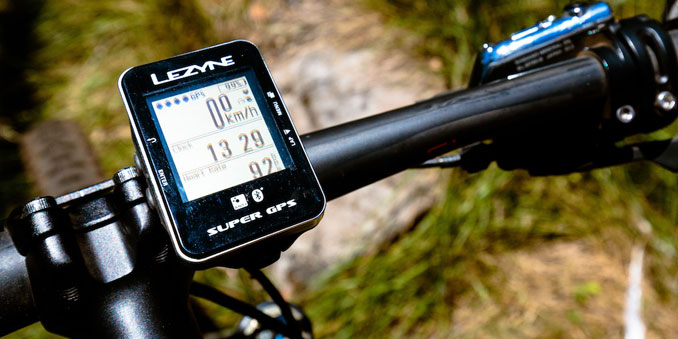 Lezyne super GPS - GPS FOR MOUNTAIN BIKERS