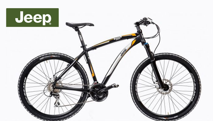 Car Brands Mountain Bikes - Jeep Mountain Bike