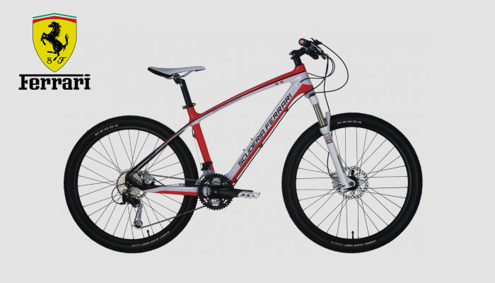 Car Companies Producing Mountain Bikes - Ferrari MTB