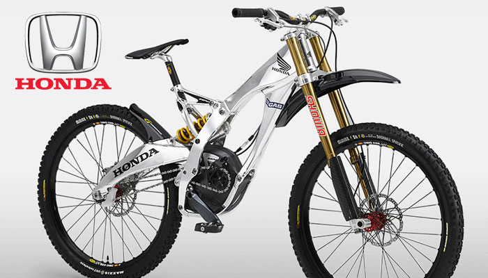Car Brands and Mountain Bikes - Honda Downhill Mountain Bike