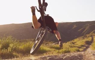 Mountain Biking Crash Causes Ongoing Erection
