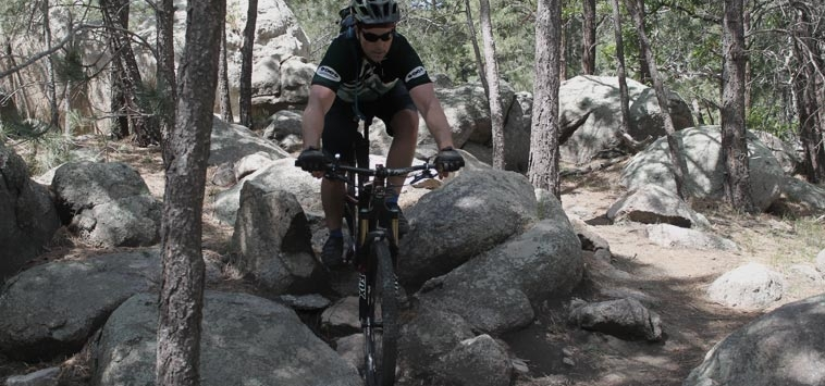 HOW TO GET UP AND OVER OBSTACLES ON YOUR MTB